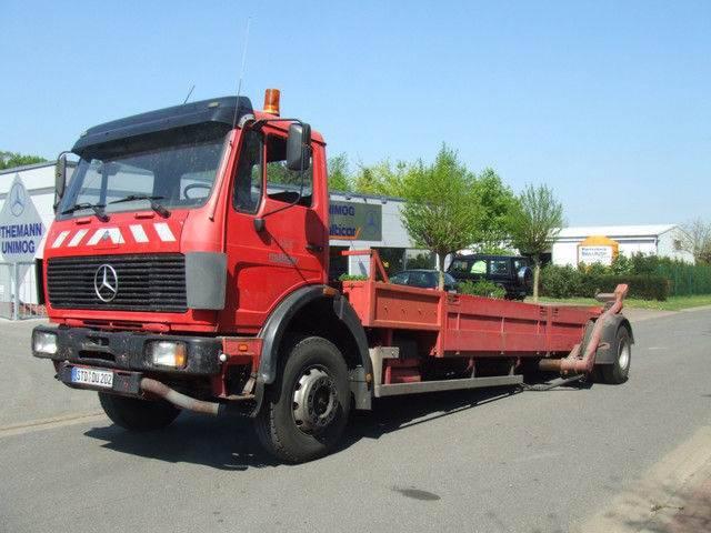 Mercedes-Benz Ruthmann,schräghubwagen,abschleppwagen - 1986