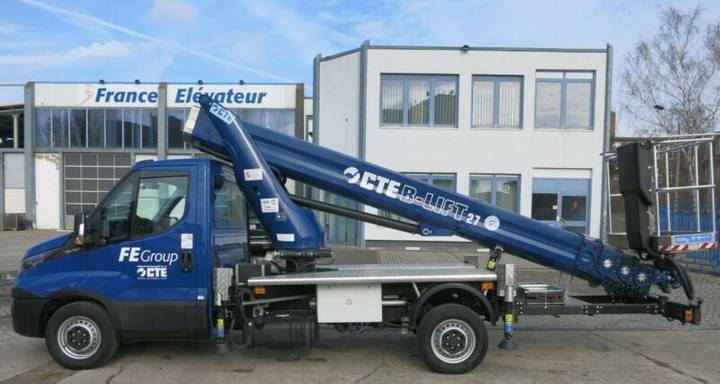 Iveco Daily CTE B-Lift 27 - 2018