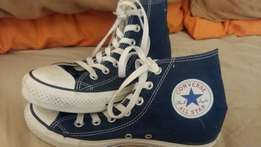 All star blue and white