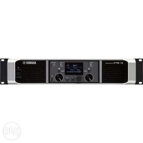 Yamaha PX3 Power Amplifiers امبليفير ياماها
