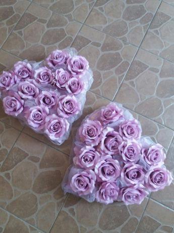 2 Serca Z Kwiatami 40cmx40cm Dzierżoniów Olxpl