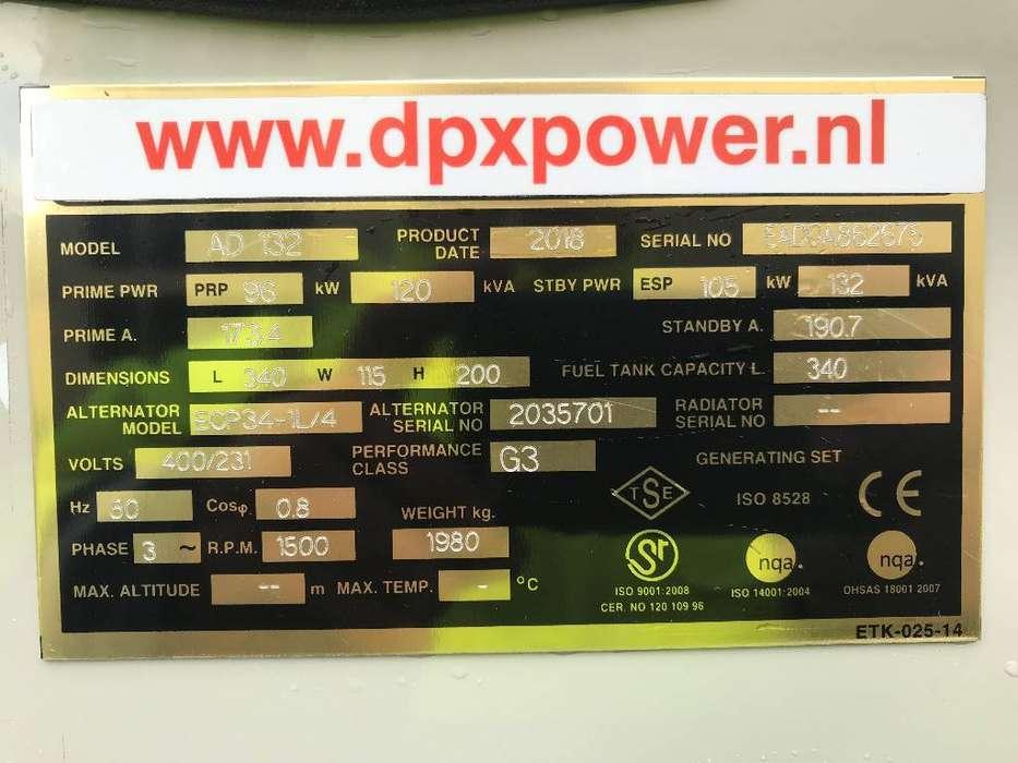 Doosan D1146T - 132 kVA Generator - DPX-15549 - 2019 - image 4