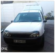 Ford Bantam bakkie 2003. 1.3i XL with Canopy beautiful condition