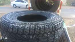 Comforser tyres 265/70r16 A/T with white markings sidewall