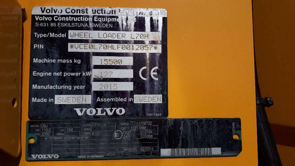 Volvo L 70 H - 2015 - image 5