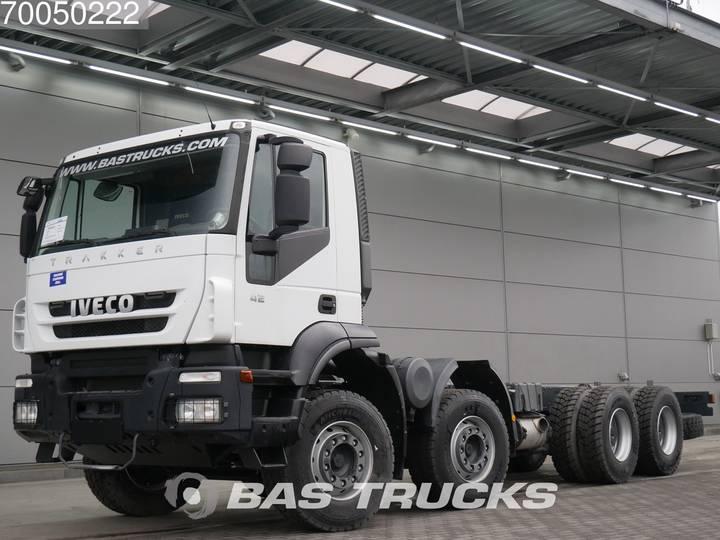 Iveco Trakker AD410T42 8X4 Manual Big-Axle Steelsuspension Euro 3