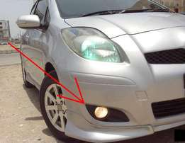 KSP90: Toyota Vitz: Year 2007-9: Fog lamp set: 8500 ksh