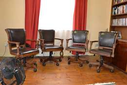 Boardroom swivel chairs