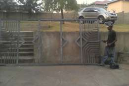 Sliding gates , carports , palisade fencing , structures etc