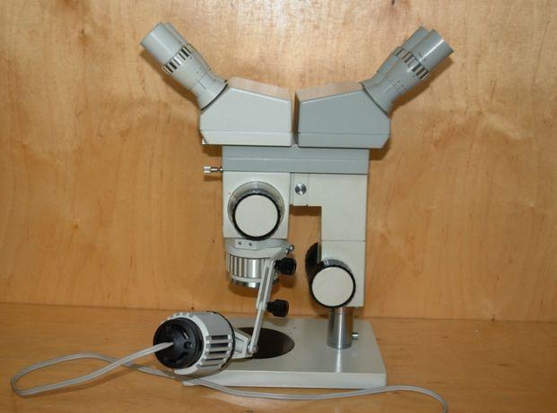 Archiwalne mikroskop biologiczny laboratoryjny pzo ml sianów