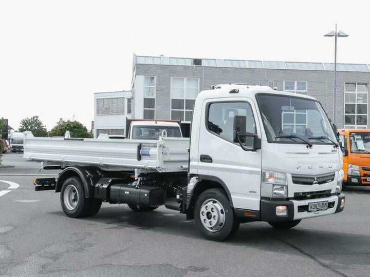 Fuso Canter 7C18 3-Seitenkipper Radio Bluetooth SpurA - 2018
