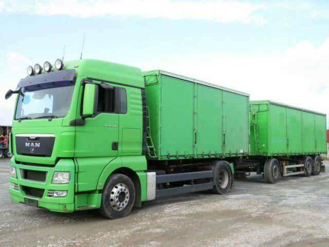 MAN TG X 18.440 Getreidekipper + Anhänger komplett! - 2009