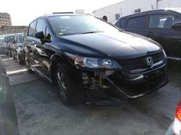 Honda stream Rsz KCP number 2010 model loaded with alloy rims, goo