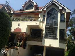 Riverside Drive near Zambian Embassy 5 bedroom villa furnished