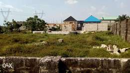 47plots of land for estate located in a strategic area in warri Town