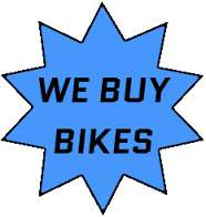 We buy bikes and fitness equipment