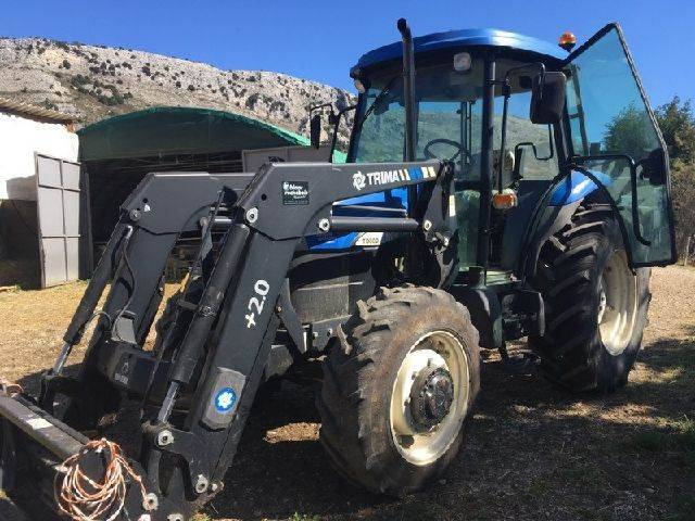 New Holland Td 80 D Chargeur - 2007