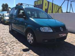 2005 VW Caddy combi 1.9 TDI Trend,7 seater