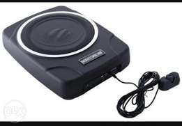 5 core car underseat powered subwoofer, free delivery within Nairobi.
