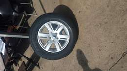 Amrock rims tyres set off 4