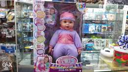 Baby lovely fall ill doll good quality music saund