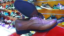 Formal shoes leather