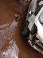 Toyota vitz kCB with damaged front part