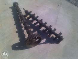 complete toyota 4A head breaking up.