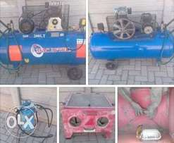 compressor and sand blasting equipment