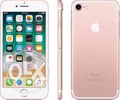 Iphone 7 rose gold as good as new 128gb