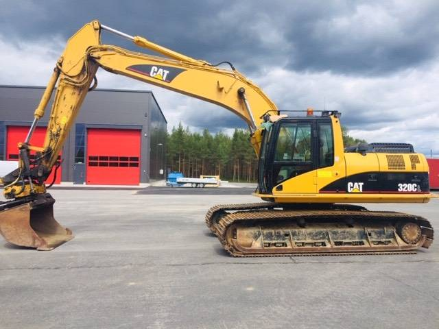 Caterpillar 320 Cl / Engcon Ec 30 / 900 Laput - 2003