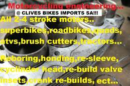 All Types Motorcycle Engineering Repairs/Parts At Clives Bikes