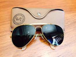 A wonderful pair of vintage Ray Ban Avaitors Sun Glassed