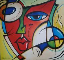 Face - oil painting