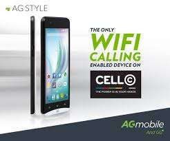 Cell C Wi Fi calling Mobile Phone AG Style Mayfair - image 4