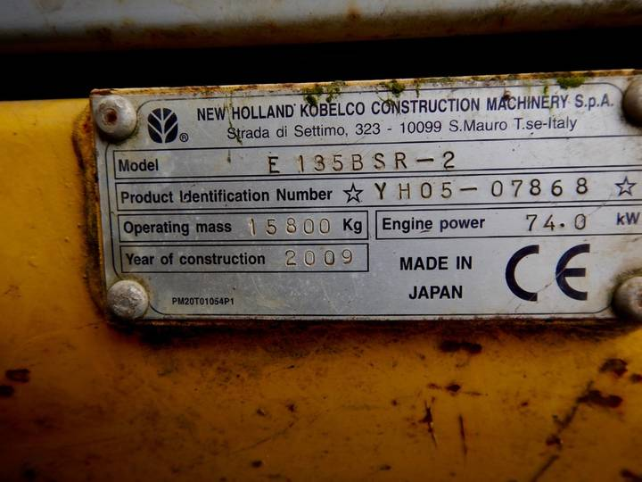 New Holland E135BSR-2 - 2009 - image 7