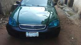 Honda civic with sharp engine and good tires is forsale