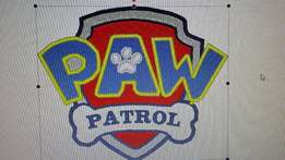 Paw Patrol patches