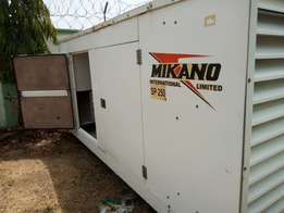 250KVA Genset in excellent condition for sale