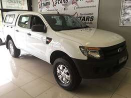 2012 Ford RANGER 2.2 XL D-CAB 123428km! With Canopy!!!