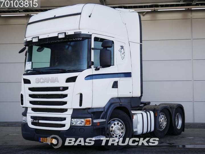 Scania R440 6X2 Retarder Lift+Lenkachse Xenon Euro 5 - 2011