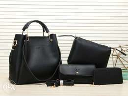 4in1 leather handbags