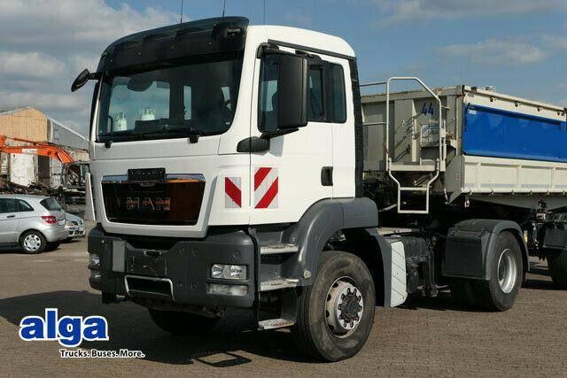 MAN 18.400 TGS, 4x4, HydroDrive, Kipp. Hydraulik! - 2014
