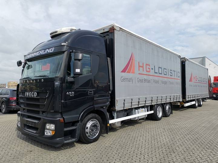 Iveco Stralis 450 / JUMBO / EEV / Retarder / XL Code - 2012