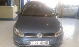 2016 polo TSi 1,2 DSG Colour Biue