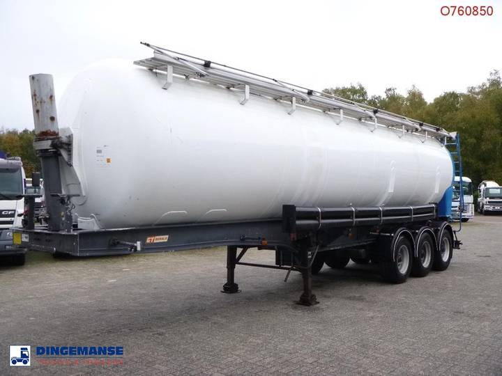 GENERAL TRAILER / Benalu Bulk tank alu 42 m3 (tipping) - 2001