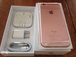 Brand New Apple iPhone 6s+ 32GB rose gold at 61,000/= 1 Year Warranty