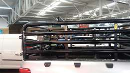 Cattle rail for a ford ranger xtra cab