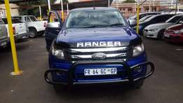 2013 Blue Ford Ranger 2,2 XLS TDCI 4x4 Double Cab for sale