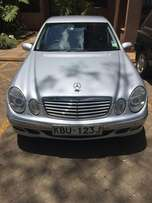 Mercedes Benz E200 With Genuine Mileage 65k Miles